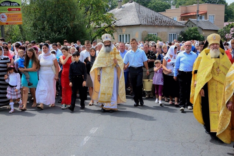 У Виноградові відбудеться хресна хода «за мир» Московського патріархату